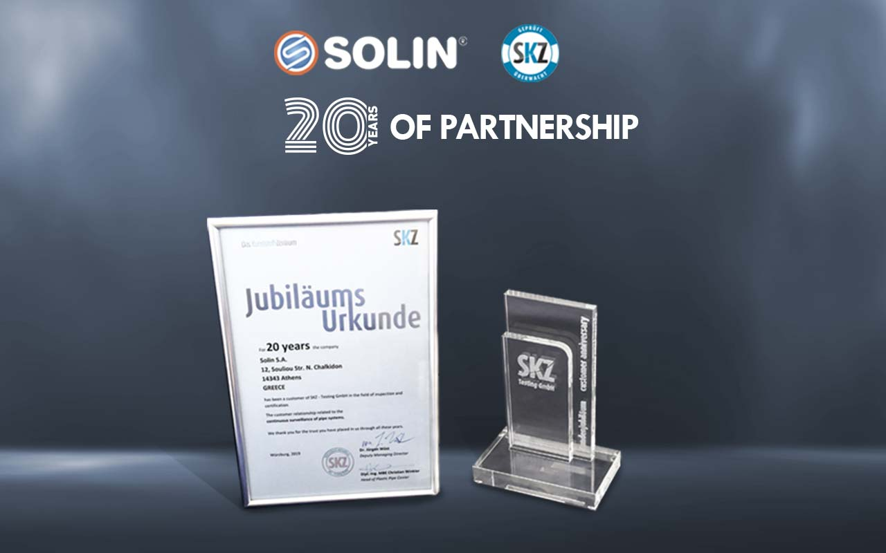 SOLIN-SKZ: 20 Χρόνια συνεργασίας
