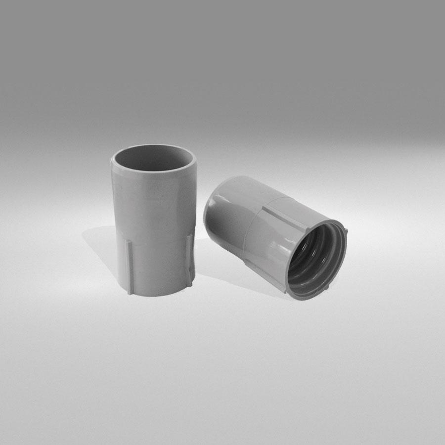 Μούφα Φ40/40 για σύνδεση & επέκταση σωλήνων PVC (θηλυκό)