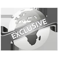 παγκόσμια αποκλειστικότητα λογότυπο