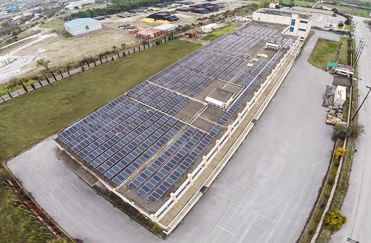 εργοστάσιο ηλιακά πάνελ