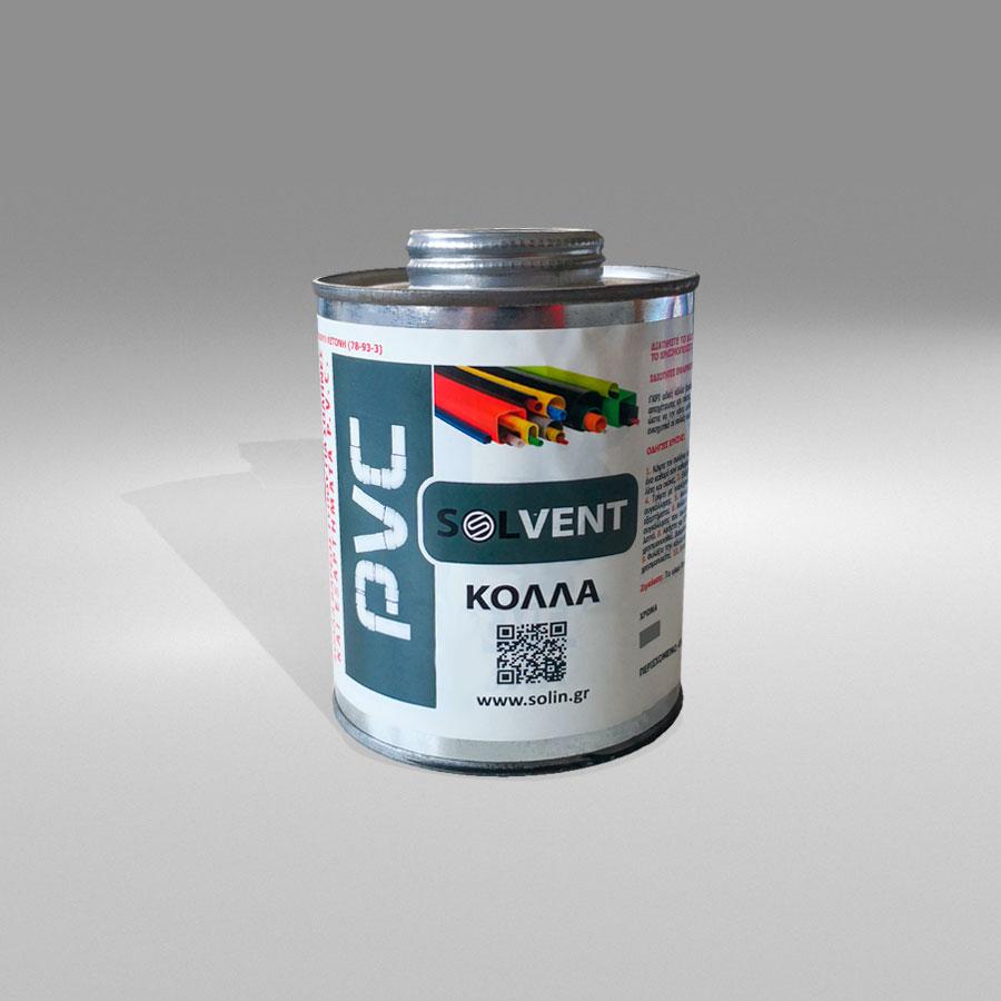 """""""SOLVENT"""" Κόλλα PVC"""